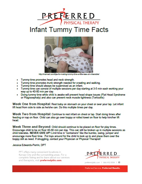 Tummy Time Facts